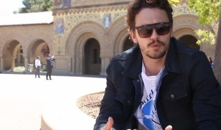 Ambitious? James Franco Tries Out Crowdfunding for 3 Feature Films Based on the Book He Wrote | Tracking Transmedia | Scoop.it