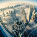 Dubai, the City in the Clouds … Another Breathtaking View of Dubai's Skyscrapers | technology and business in the middle east | Scoop.it