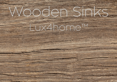 Lux4home-Indonesia | Wooden Sinks Catalog | Stone sinks | Scoop.it