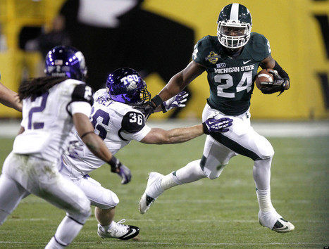 Le'Veon Bell Drafted: Steelers Draft Michigan State RB In 2013 NFL ... | My life | Scoop.it