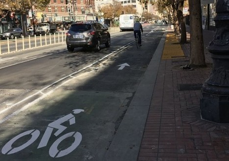 The Day of the Raised Bike Lane Has Arrived in San Francisco   Sustainable Futures   Scoop.it