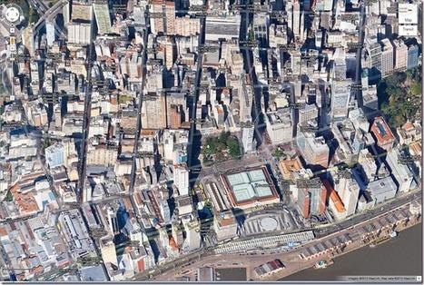 #Geoprocessamento - #Arcgis - #SIG - #GPS: Google Maps : Imagem a 45o de Porto Alegre | Geoprocessing | Scoop.it