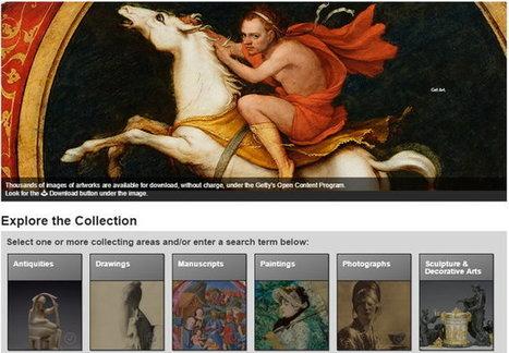 11 excelentes colecciones de Ciencia, Historia, Arte y Cultura disponibles en la red | Aprendizajes 2.0 | Scoop.it