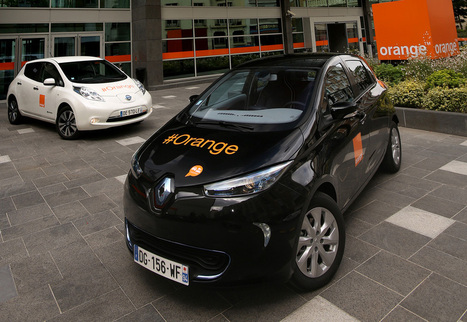 Orange poursuit l'électrification de sa flotte | Actu automobile | Scoop.it