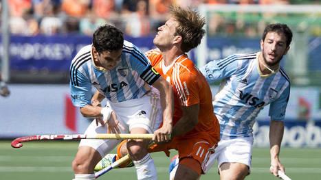MEN Pool B: Orange style sinks Argentina | Hockey World Cup 2014 | Scoop.it