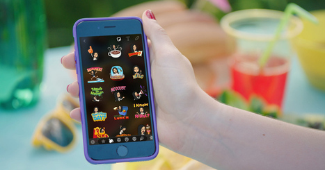 Snapchat now lets you use Bitmojis in chat or onsnaps | MarketingHits | Scoop.it