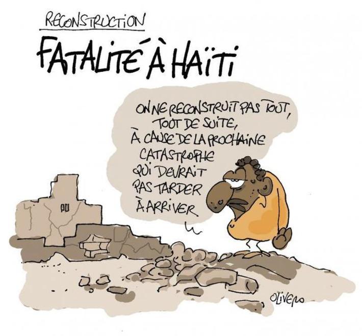 La reconstruction traine à Haïti   Baie d'humour   Scoop.it