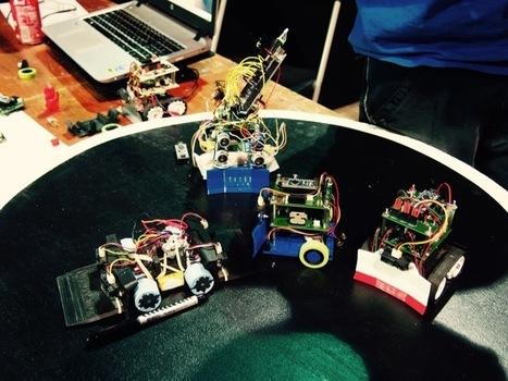 Apérobot, la robolution DiY autour d'un verre | Bots and Drones | Scoop.it