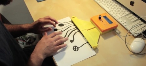 Make Your Own MIDI Controller with Arduino, Paper and Conductive Ink | Raspberry Pi | Scoop.it
