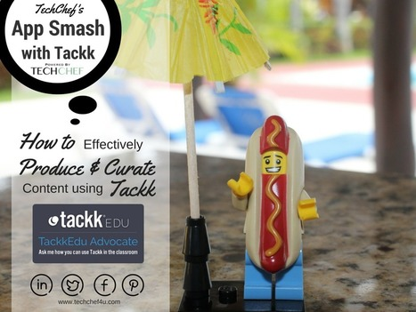 Why App Smashing With Tackk is HOT! | iPad Lessons | Scoop.it