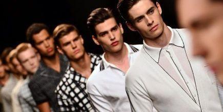 Cuirs et imprimés, premières tendances de la mode masculine été 2014, à Milan   Cuir : habitudes de consommation   Scoop.it