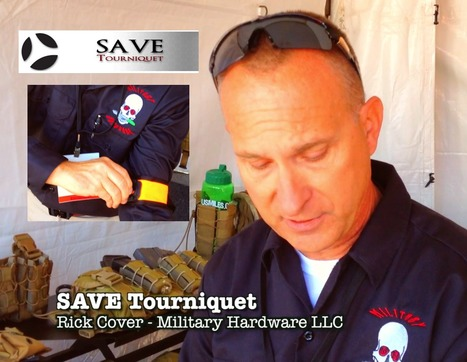 Real World Lifesaving Device - SAVE Tourniquet @ Marine South Expo - THUMPY VIDEO on YouTube | Thumpy's 3D House of Airsoft™ @ Scoop.it | Scoop.it