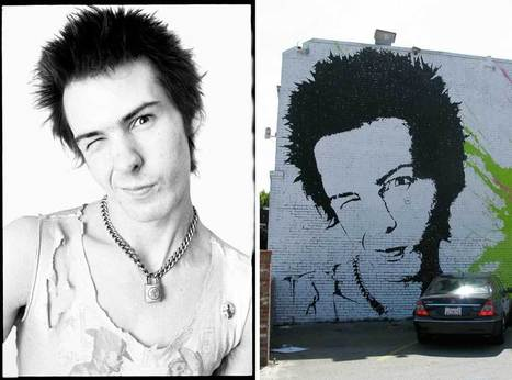 Judge says Sid Vicious street art breaks copyright | Studio Art and Art History | Scoop.it
