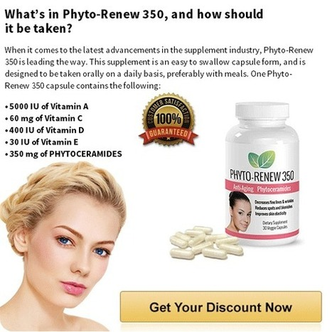 Phyto Renew 350 Review - Claim Your Phyto Renew Online And Look Young! Try Now!! | Help your skin look younger and healthy! | Scoop.it