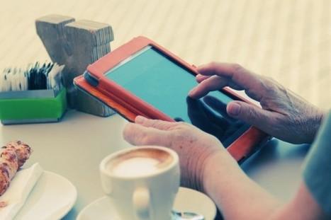 El público sénior también tuitea y comparte en sus redes sociales. | APRENDIZAJE | Scoop.it
