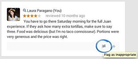 Google permet de mieux signaler et corriger les Faux avis locaux - #Arobasenet | Tourisme | Scoop.it