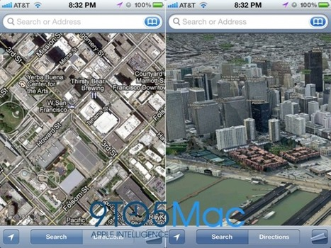 iOS 6: Apple drops Google Maps, debuts in-house 'Maps' with incredible 3Dmode | :: The 4th Era :: | Scoop.it