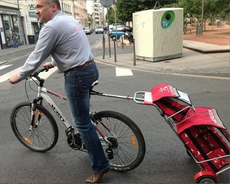 Innovation : Intermarché propose à ses clients lyonnais de faire leurs courses à vélo | Vélo en ville, villes à vélos | Scoop.it