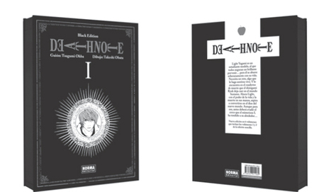 Norma publica 'Death Note Black Edition' para el 31 Salón del Cómic