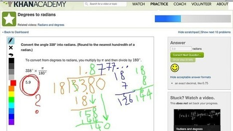 How Are Teachers and Students Using Khan Academy? | Ed Tech 4 Instructors | Scoop.it