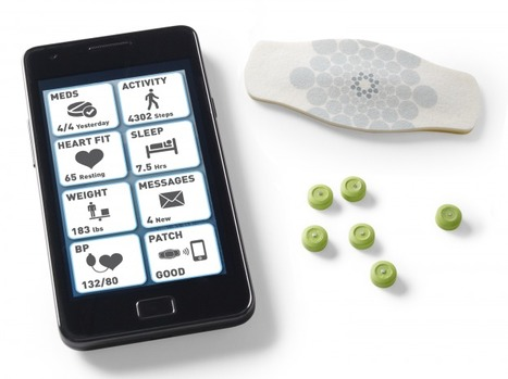 FDA approves edible electronic pills that sense medication intake | Digital Trends | New inventions | Scoop.it