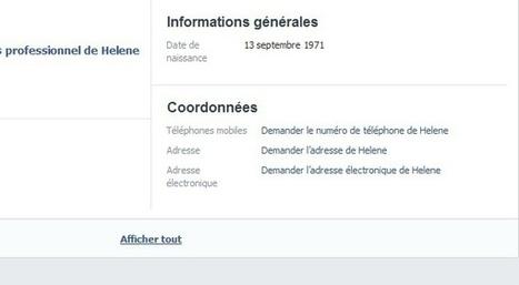 Vous pouvez demander à vos amis Facebook de révéler les informations qu'ils ne veulent pas partager | Geeks | Scoop.it