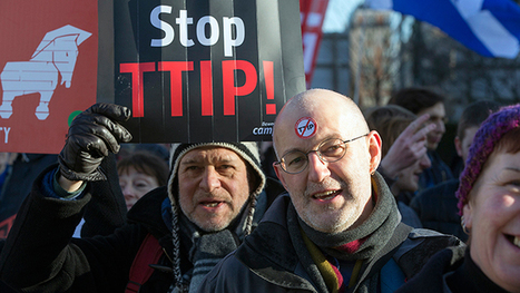 TTIP vs Democracy: London activists to resist controversial EU-US trade deal   Welfare, Disability, Politics and People's Right's   Scoop.it