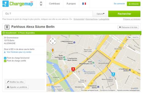ChargeMap annonce la disponibilité des bornes en temps réel | Smart city & Smart mobility : | Scoop.it