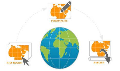 StepMap - create maps online for free. Fast. Easy. | Recursos TIC y otros | Scoop.it