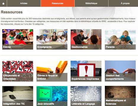 Nouveauté sur le site du RIRE : une section Ressources! | Centre François-Michelle | Scoop.it