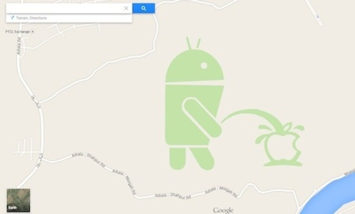 "Android qui urine sur Apple : Google s'excuse et donne les explications | Veille Techno et Informatique ""AutreMent"" 