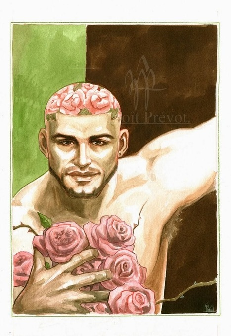 François Sagat by Benoît Prévot - #ARTE - JIMI PARADISE™ | QUEERWORLD! | Scoop.it