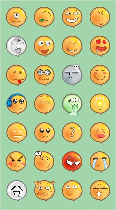 25+ Best Great Emoticons and Smiley Icons Packs | Bazaar | Scoop.it