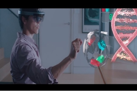 Microsoft HoloLens: Future of Gaming | 3D Virtual-Real Worlds: Ed Tech | Scoop.it