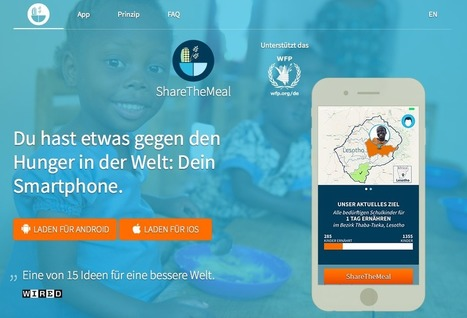 ShareTheMeal App | UN WFP | Development, agriculture, hunger, malnutrition | Scoop.it