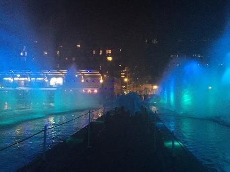 La Fox sépare le bassin de la Vilette en 2 pour l'avant-première du film Exodus | streetmarketing | Scoop.it