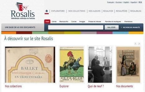 Site du jour (191) : Rosalys, bibliothèque numérique de Toulouse | CGMA Généalogie | Scoop.it