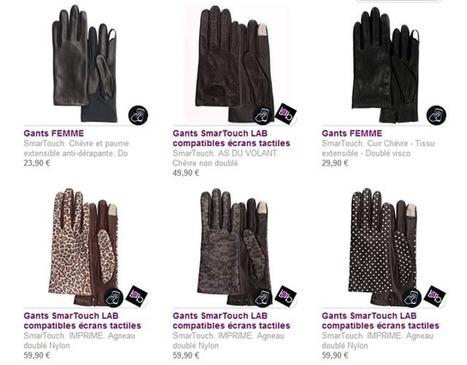 Isotoner SmarTouch : des gants chauds utilisables avec vos smartphones tactiles ! | LibraryLinks LiensBiblio | Scoop.it