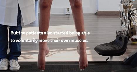 Quand la réalité virtuelle réapprend la marche à des paraplégiques - FrAndroid | SeriousGame.be | Scoop.it