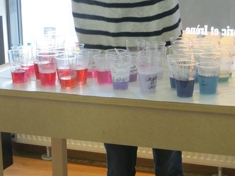 Atelier chimie à l'ESPGG - Ressources pour s'amuser ensemble | Les actualités du groupe Traces et de l'Espace des sciences Pierre-Gilles de Gennes de l'ESPCI ParisTech | Scoop.it
