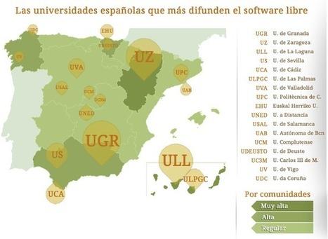Universidades españolas comprometidas con el software libre | andalucía | Scoop.it