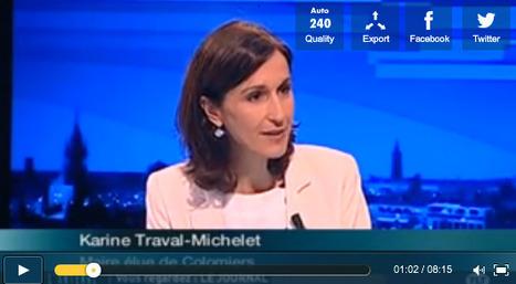 Vidéo : Interview de Karine Traval-Michelet sur TLT après son élection. | Municipales à Colomiers : Les échos de la campagne dans la 2e ville de Haute-Garonne | Scoop.it