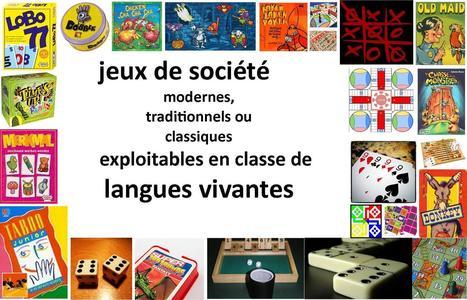 Espace pédagogique : pratique d'une langue vivante étrangère - répertoire de jeux en langues vivantes | fle&didaktike | Scoop.it
