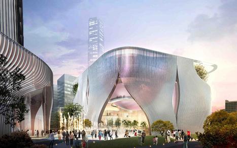 Xiqu Center / Bing Thom Architects - eVolo   Architecture Magazine   [THE COOL STUFF]   Scoop.it