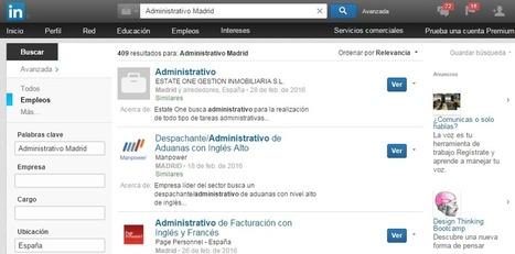 Guía Aprende LinkedIn: las BÚSQUEDAS. - Donde Hay Trabajo | Tecnologia Instruccional | Scoop.it