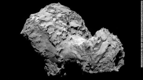 'We're in orbit!' Rosetta becomes first spacecraft to orbit comet with video (4min) | Science, Space, and news from 'out there' | Scoop.it