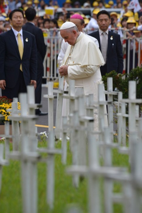 Pope Francis Visits 'Cemetery For Abortion Victims' in South Korea | Upsetment | Scoop.it
