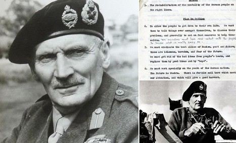 Field Marshal Montgomery wanted Boy Scouts to help rehabilitate Nazis | British Genealogy | Scoop.it