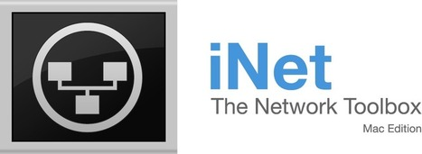 The iNet Network Toolbox for Mac | New Web 2.0 tools for education | Scoop.it