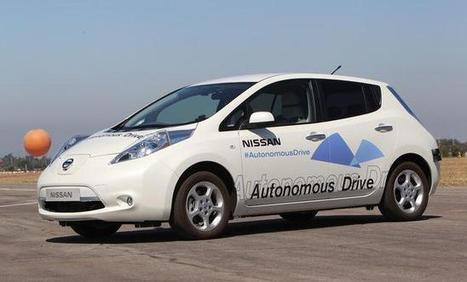 Nissan says it will have self-driving cars ready for 2020 | leapmind | Scoop.it